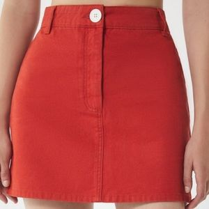 Red Urban Outfitters BDG Skirt